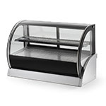 "Vollrath 40857 60"" Full-Service Countertop Heated Display Case w/ Curved Glass - (2) Levels, 120v"
