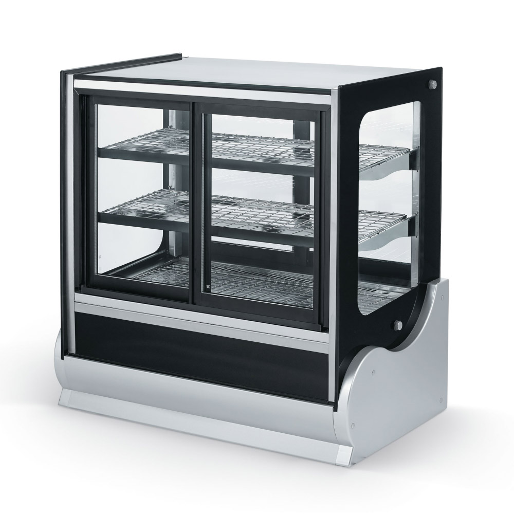 "Vollrath 40890 36"" Full Service Heated Deli Case w/ 3 Levels, 120v"