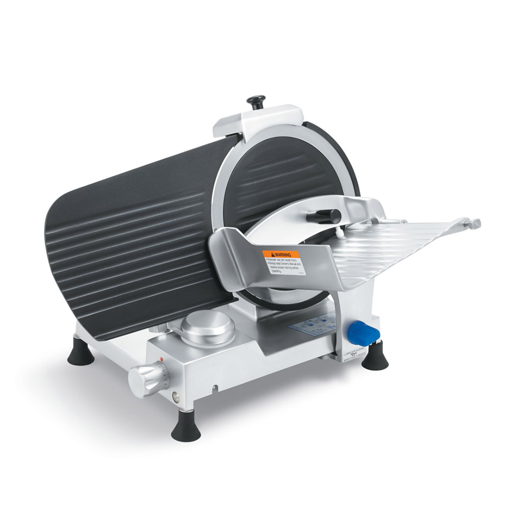 "Vollrath 40902 12"" Medium-Duty Gravity Feed Slicer - 110v/60/1-ph"