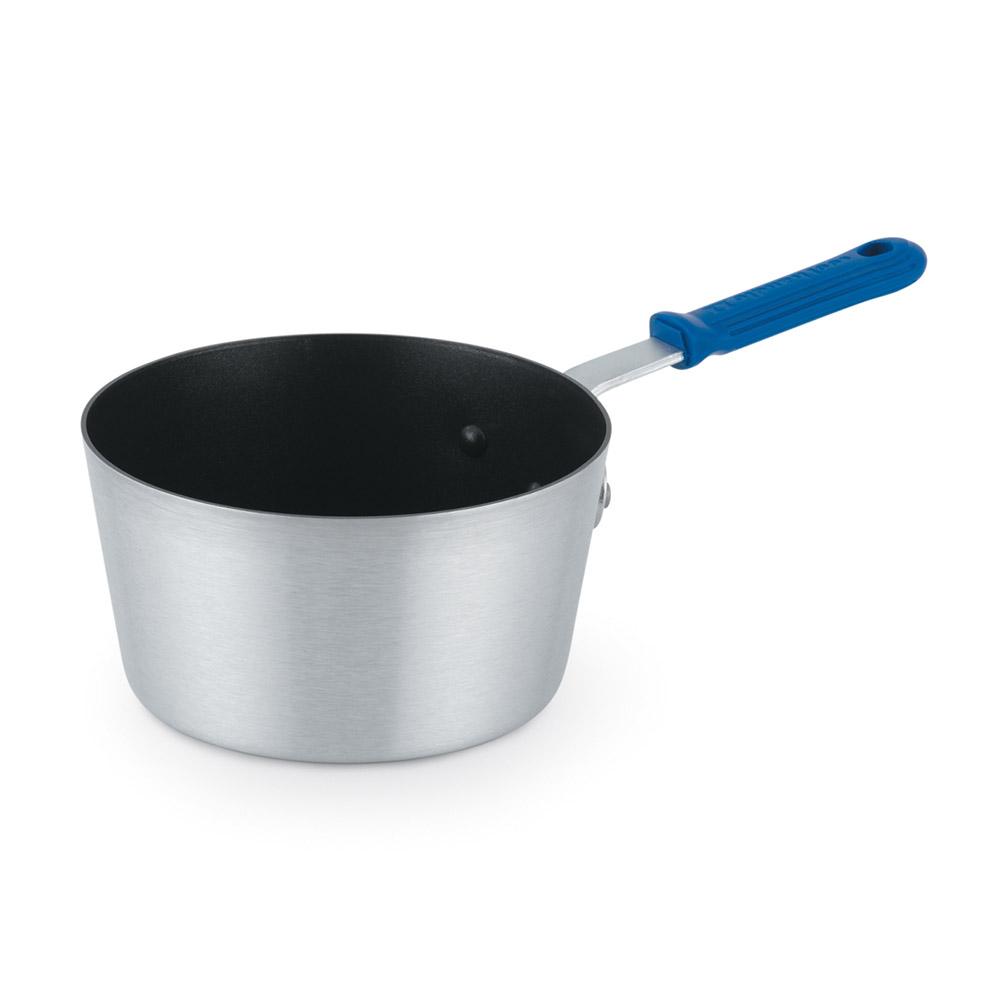 Vollrath 434312 3.75-qt Aluminum Saucepan w/ Solid Silicone Handle