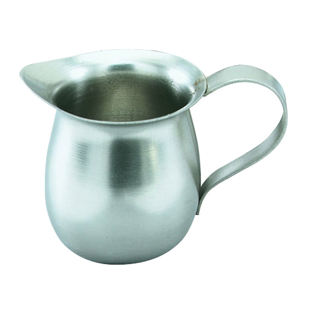 Vollrath 46003 3-oz Bell Creamer - Mirror-Finish Stainless