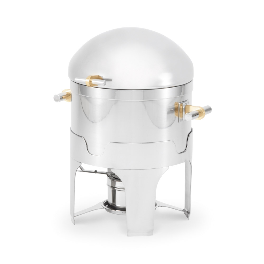 Vollrath 46095 2-1/2-qt Gravy/Sauce Chafer - Dome Cover, Stainless