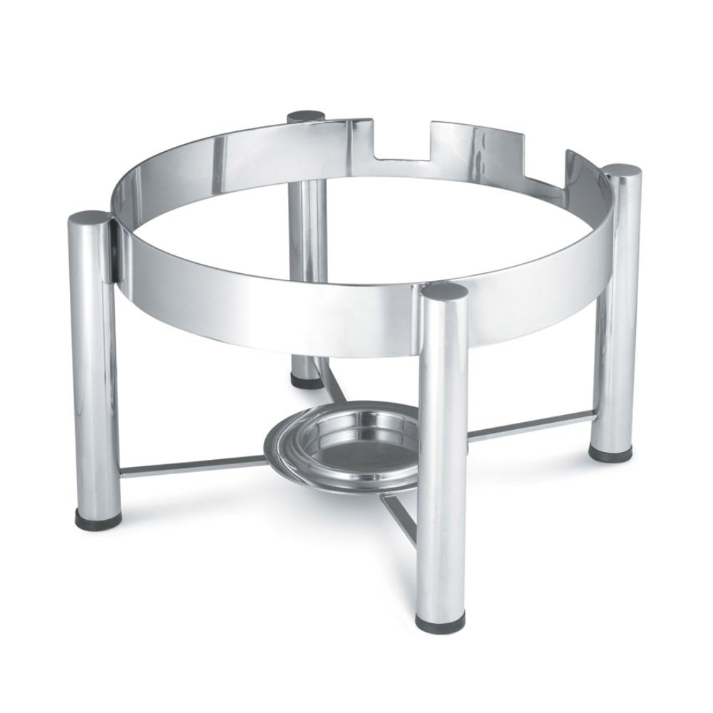 Vollrath 46114 Stand for Round Induction Chafers - Mirror-Finish Stainless
