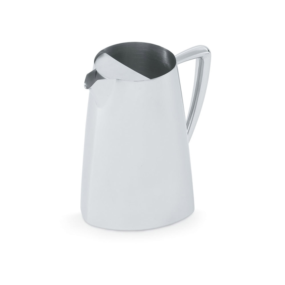 Vollrath 46206 2.3-qt Water Pitcher with Ice Guard - Mirror-Finish Stainless