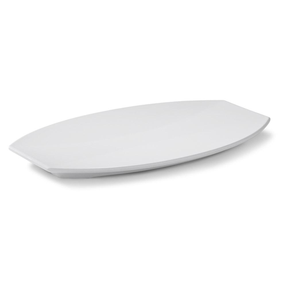 Vollrath 46291 Large Melamine Platter - 22x13-3/4x1-1/4
