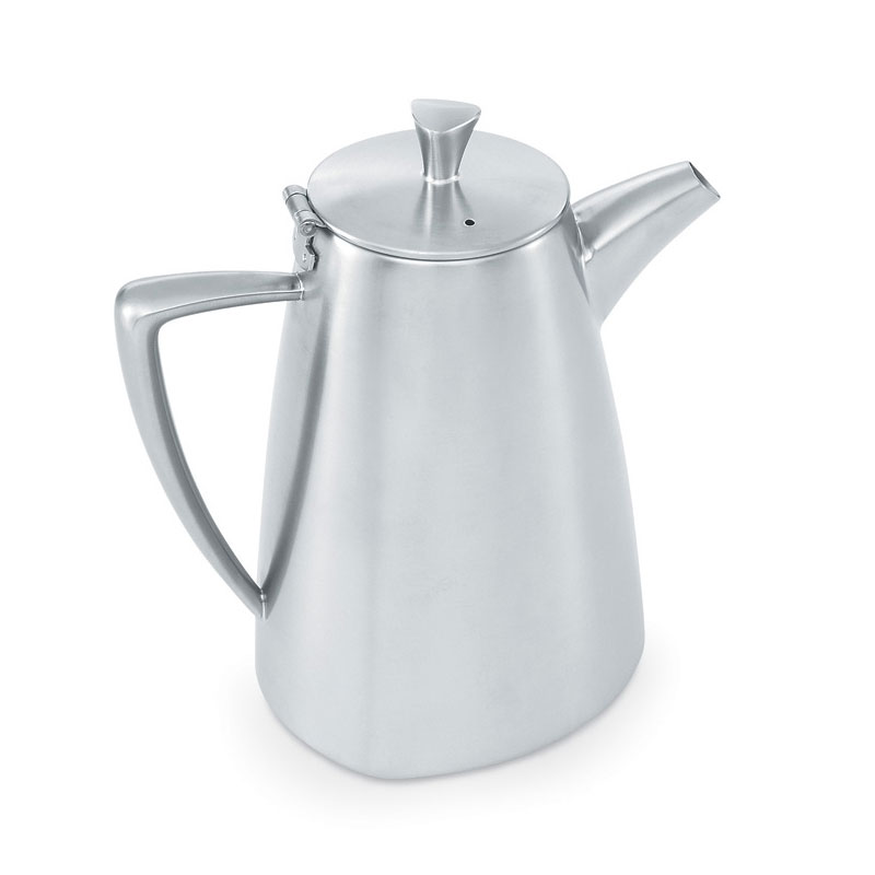 Vollrath 46301 20-oz Coffee Pot - Satin-Finish Stainless