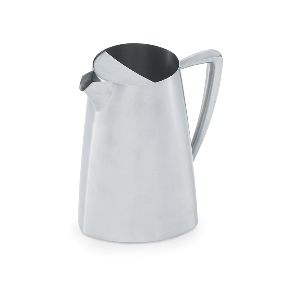Vollrath 46306 2.3-qt Water Pitcher with Ice Guard - Satin-Finish Stainless