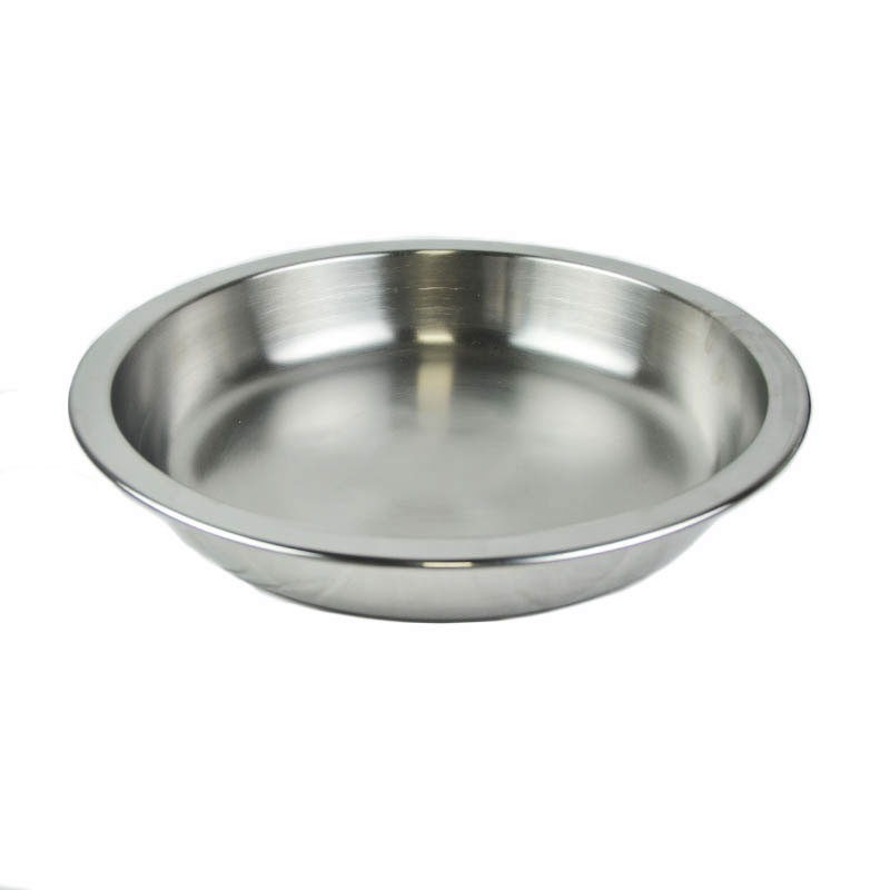 Vollrath 46326 8-qt Round Chafer Food Pan - Mirror-Finish Stainless