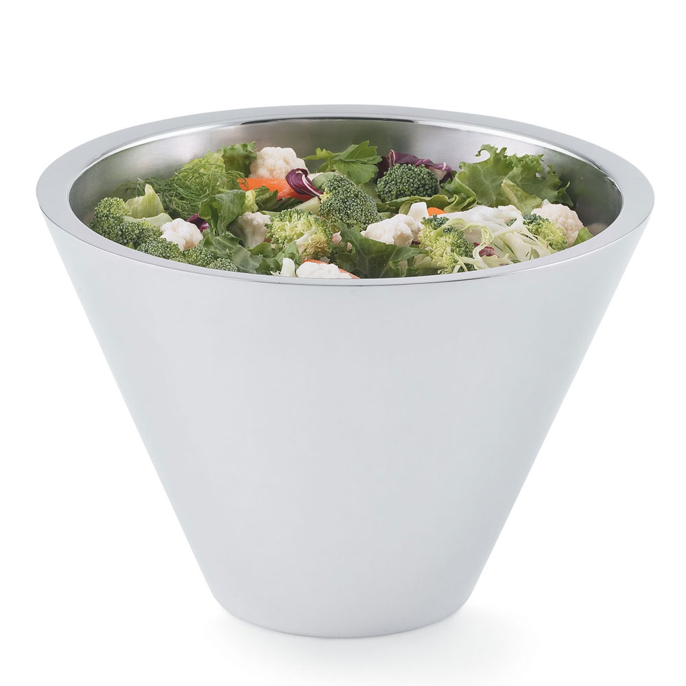 Vollrath 46579 6.4-qt Insulated Conical Bowl - 18-ga Stainless