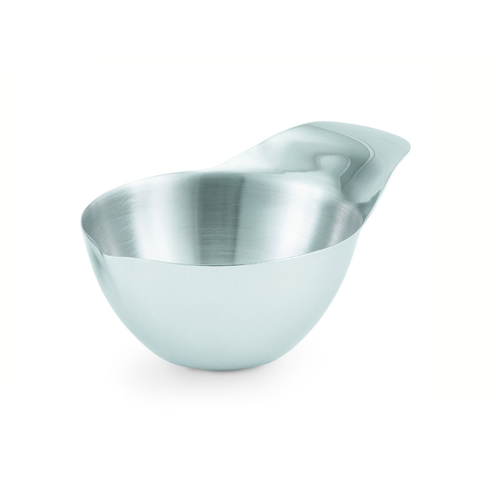 Vollrath 46661 4-oz Ramekin with Handle - Mirror-Finish Stainless