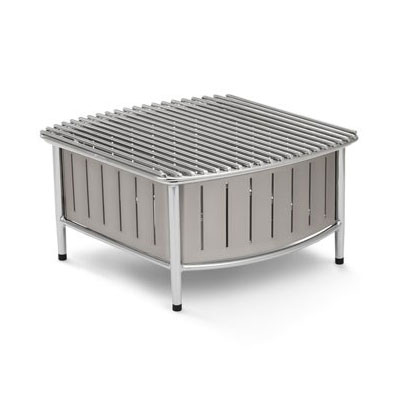 "Vollrath 4667480 Buffet Station w/ Wire Grill - 16"" x 16"", Natural"