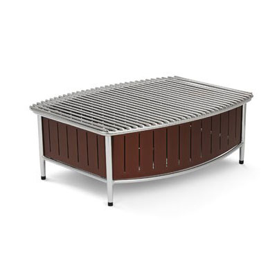 "Vollrath 4667570 Buffet Station w/ Wire Grill - 21"" x 16"", Brown"