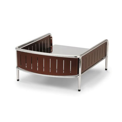 """Vollrath 4667670 Buffet Station w/ Wire Grill - 18.25"""" x 15.88"""", Brown"""