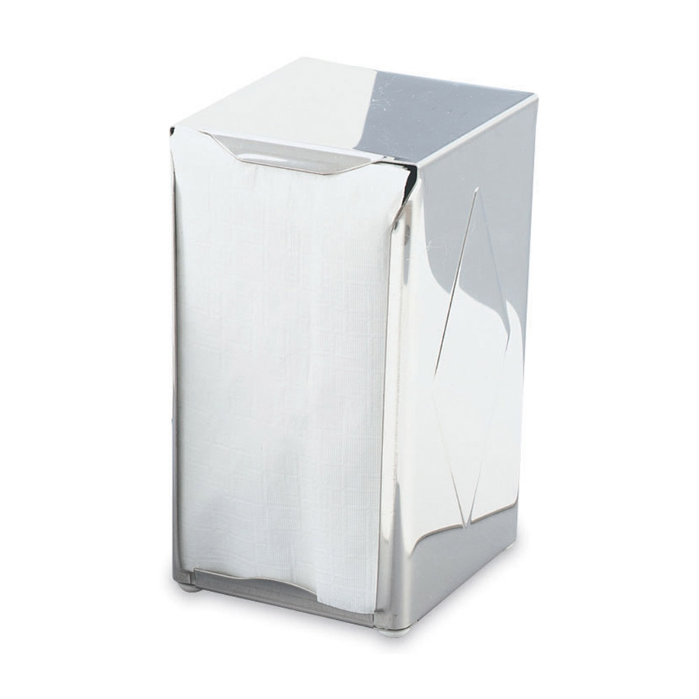 Vollrath 46798 Napkin Dispenser - 135 Capacity, Stainless