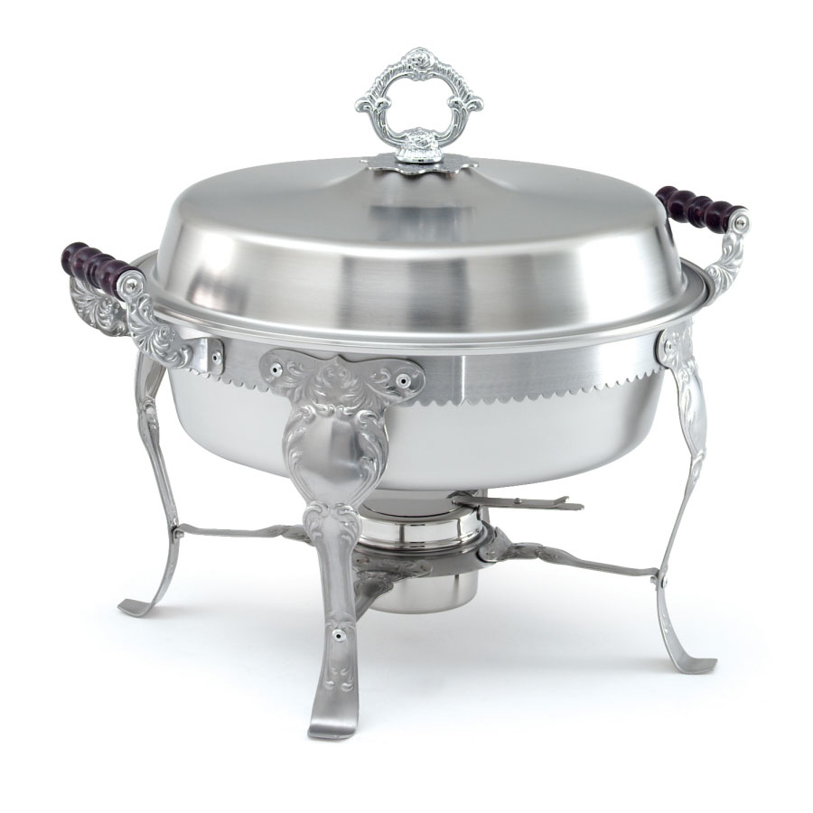 Vollrath 46860 Round Chafer w/ Lift-off Lid & Chafing Fuel Heat