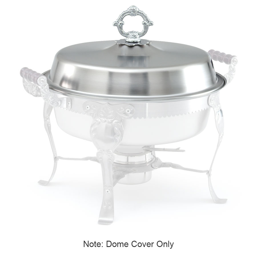 Vollrath 46863 6-qt Round Chafer Dome Cover - (46860) Stainless