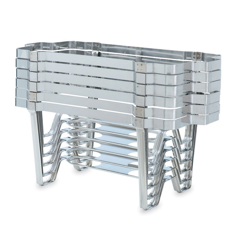 Vollrath 46885 Full-Size Chafer Stackable Rack - Mirror-Finish Stainless