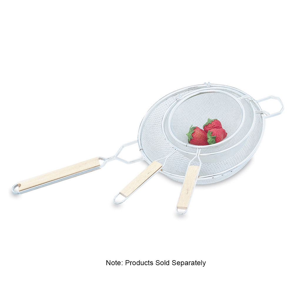 "Vollrath 47189 8"" Wire Mesh Strainer - Fine"