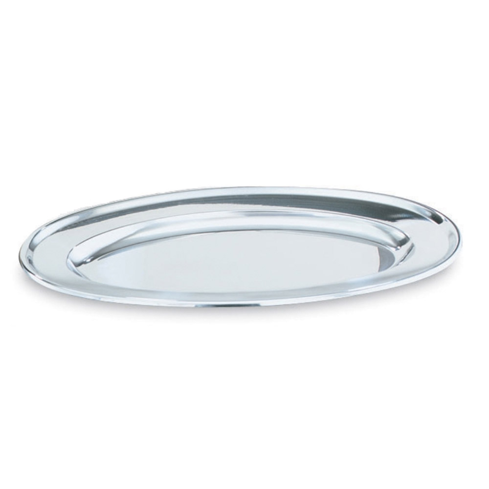 "Vollrath 47236 15-3/4"" Oval Platter - Stainless"