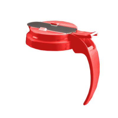 Vollrath 4748T-02 48-oz Syrup Server Cap - Red