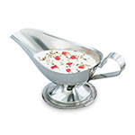 Vollrath 47575 5-oz Gravy/Sauce Boat - Gadroon Base, Stainless