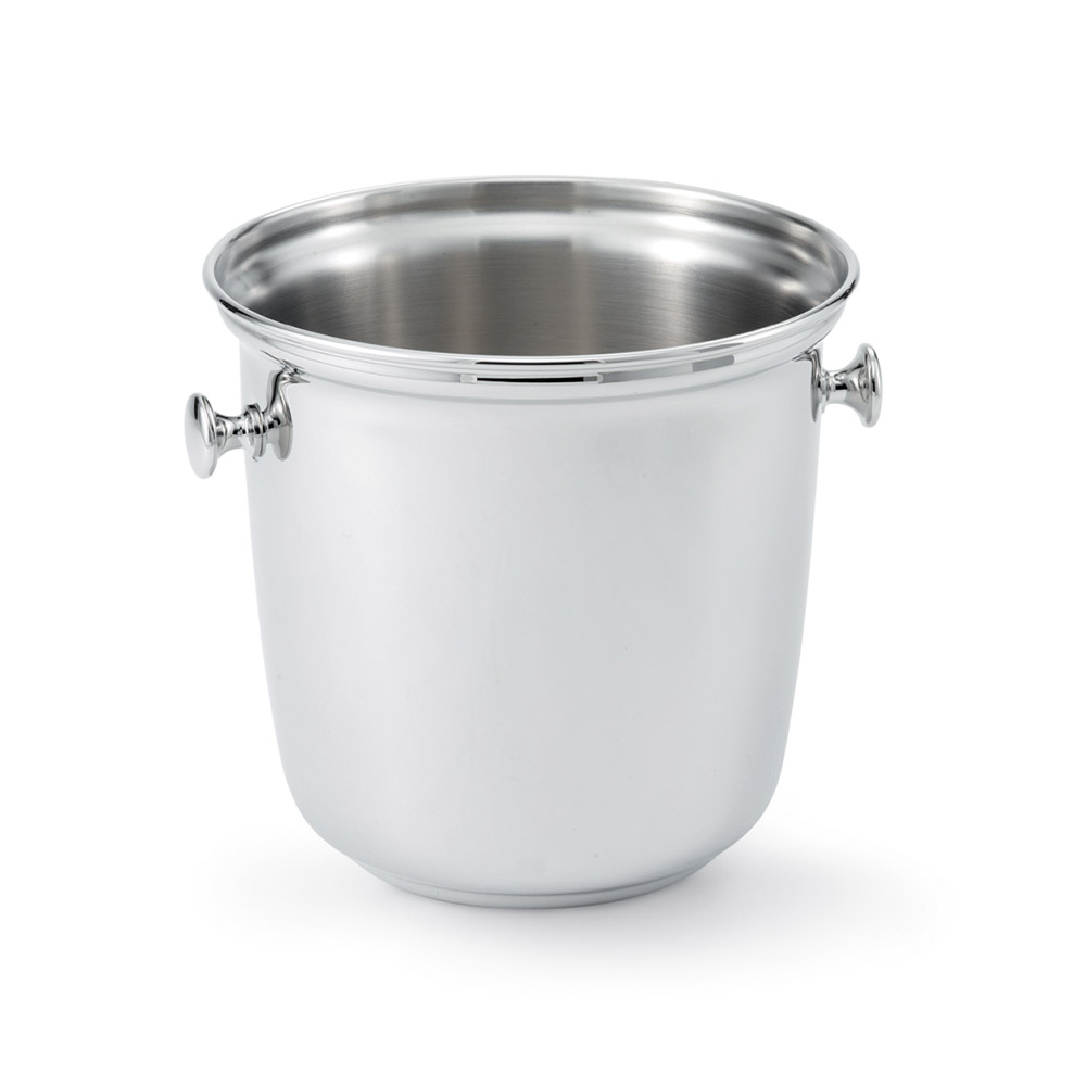 Vollrath 47625 Double Wine Bucket with Handles - Mirror-Finish Stainless