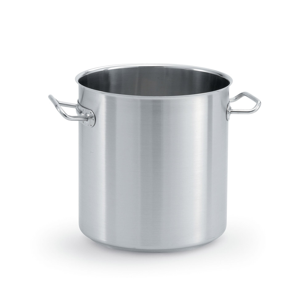 Vollrath 47721 12-qt Stainless Steel Stock Pot - Induction Ready