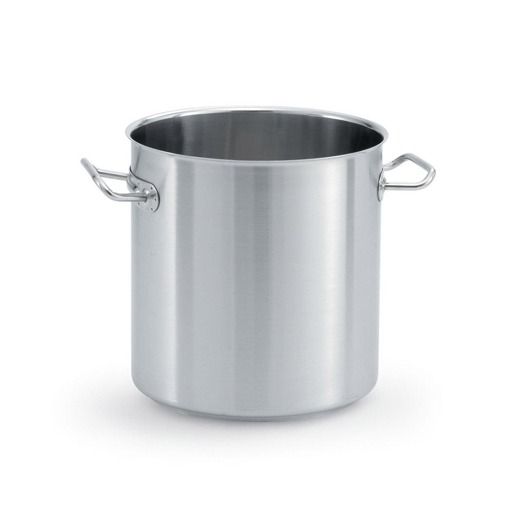 Vollrath 47722 18-qt Stock Pot - 18/8-Stainless/ Aluminum