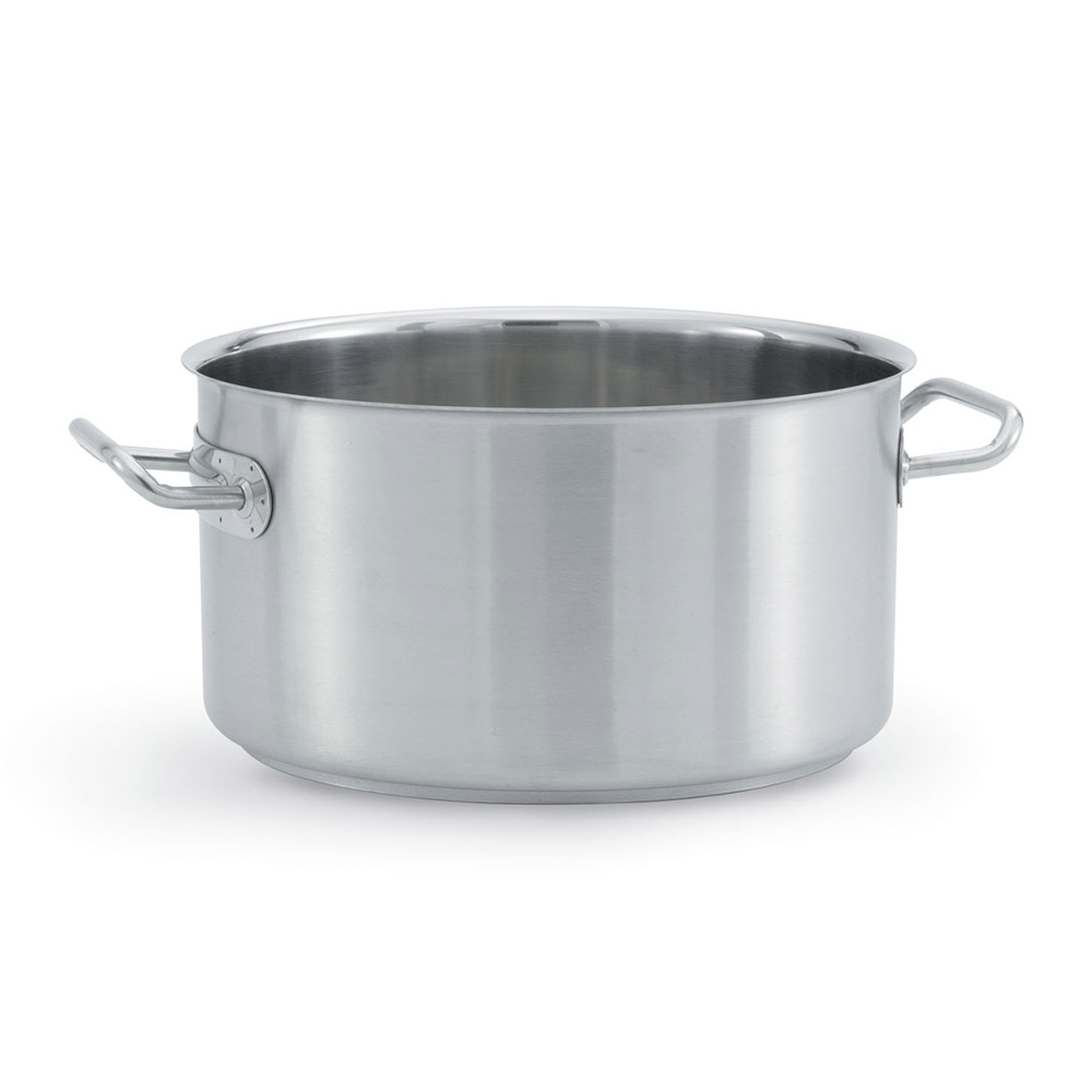 "Vollrath 47734 24-qt Stainless Sauce Pot - 14.06"" x 9"""