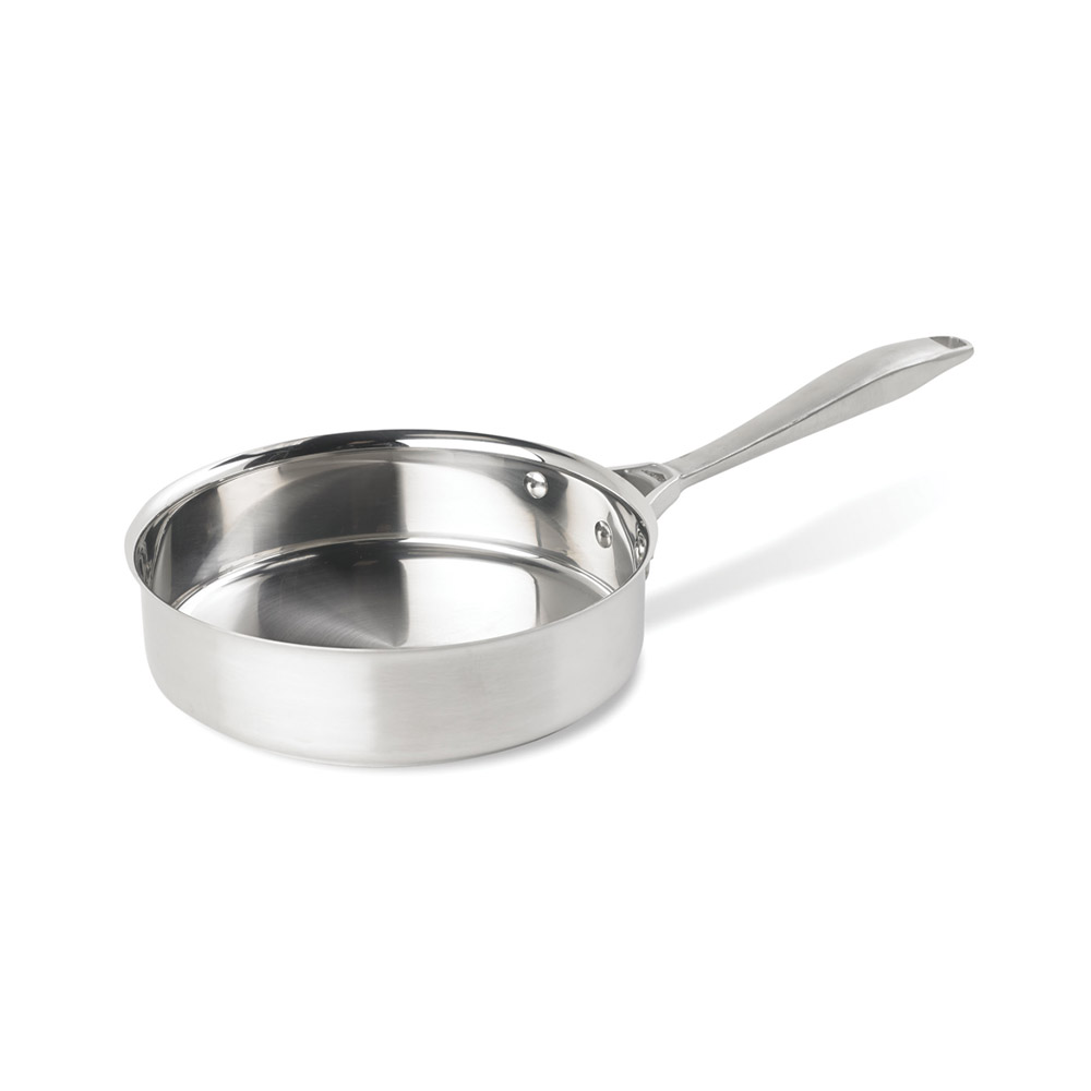 Vollrath 47745 3-qt Saute Pan - Aluminum Bottom, 18-ga Stainless