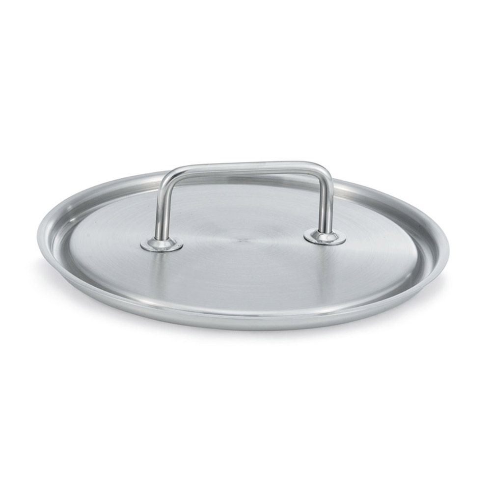 "Vollrath 47776 12.6"" Saucepan Cover for Intrigue Cookware - 18/8 Stainless"