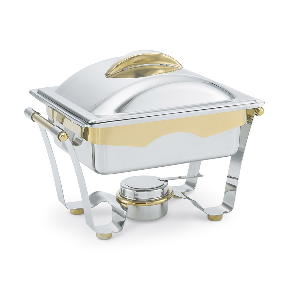 Vollrath 48329 Half Size Chafer w/ Lift-off Lid & Chafing Fuel Heat