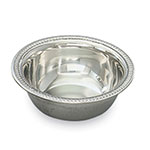 Vollrath 48372 Silverplated Sauce Bowl, 2 oz, Gadroon Edge