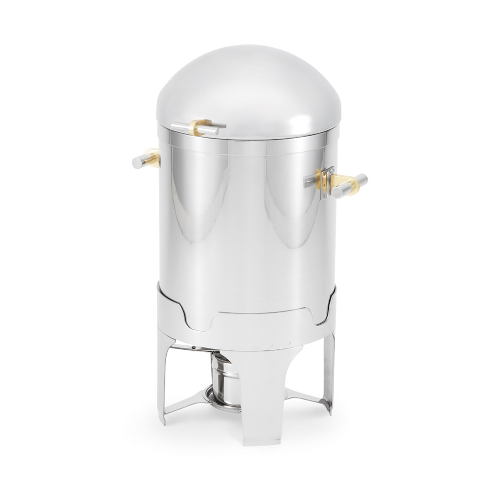 Vollrath 48790 7-qt Soup Chafer - Dome Cover, Silverplated