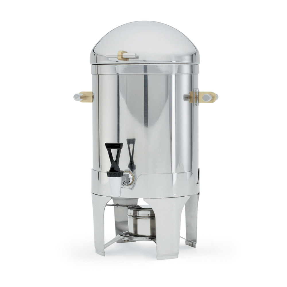 Vollrath 48794 5-Gal Coffee Urn - Dome Cover, Silverplated