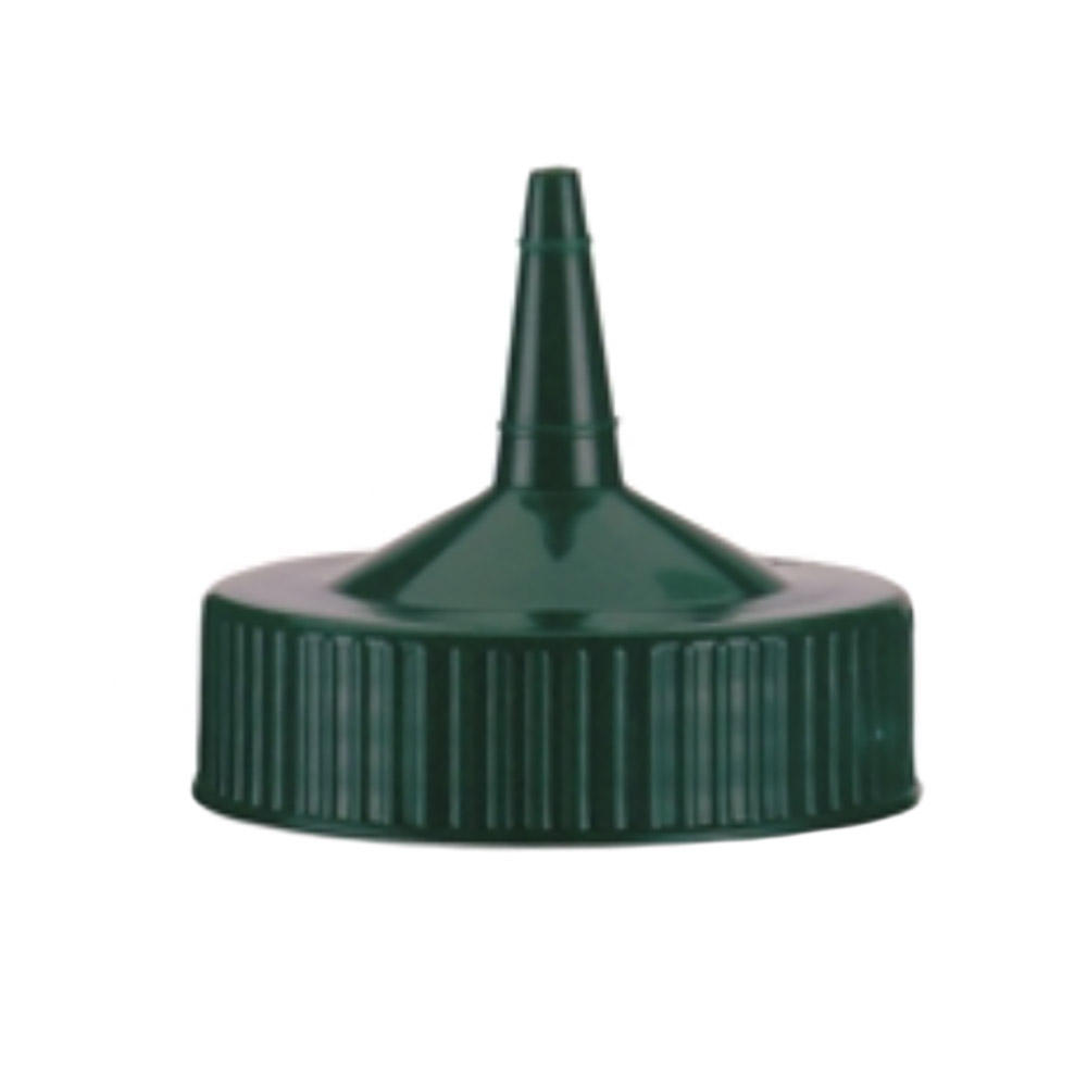Vollrath 4913-191 Squeeze Bottle Dispenser Spout Cap - Fits 16-32 oz Vista Green