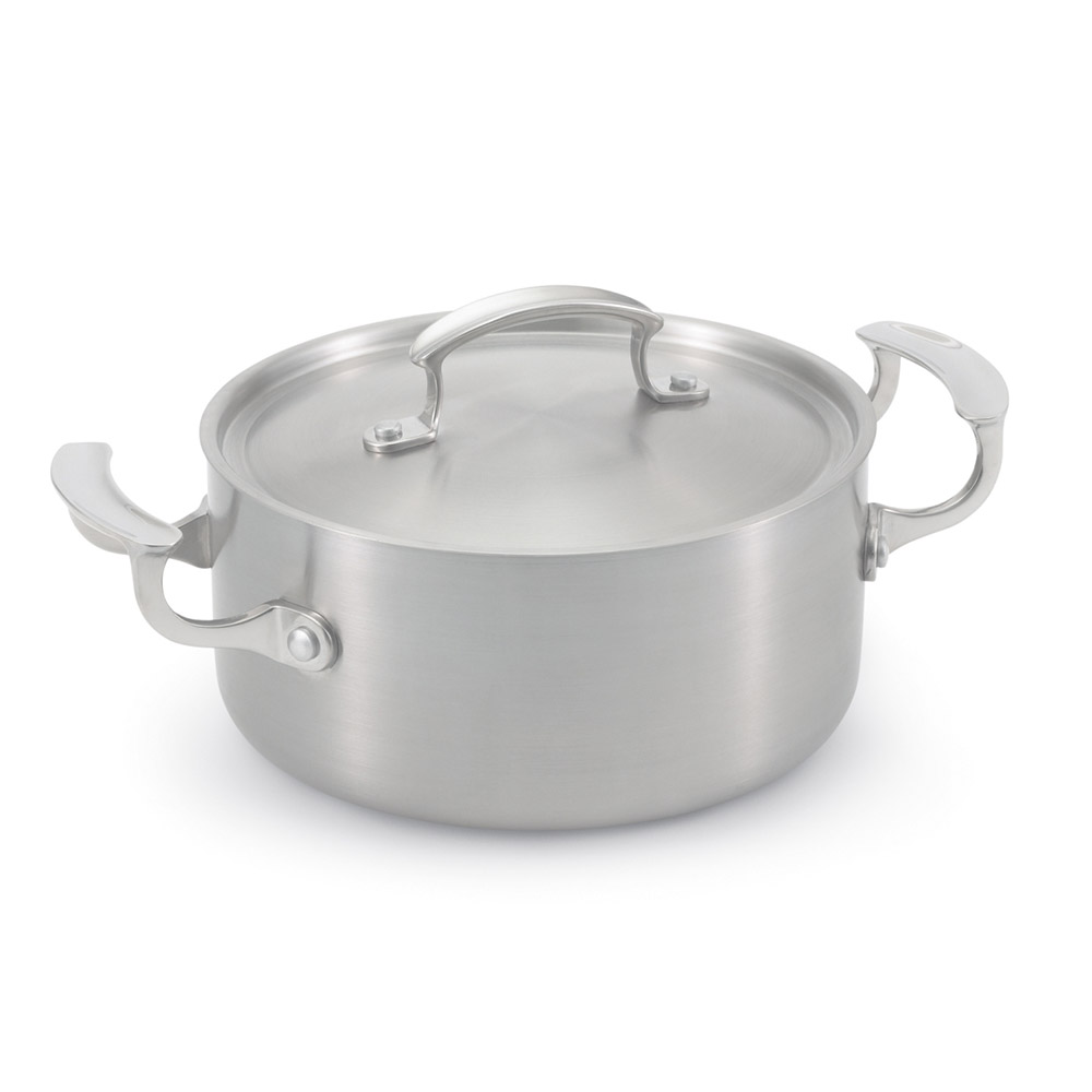 Vollrath 49410 3-qt Casserole with Low Dome Cover - Aluminum Bottom, 18-ga  Stainless