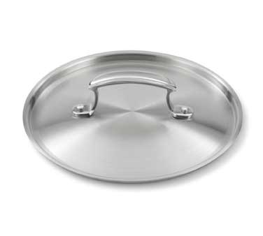 "Vollrath 49419 8"" Low Dome Cover - 3-Ply Construction"