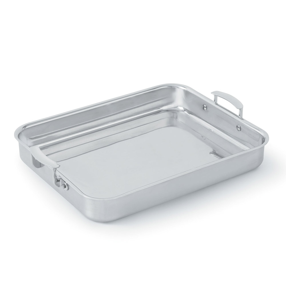 Vollrath 49433 4 6 qt large food pan with handles for Cuisine aluminium