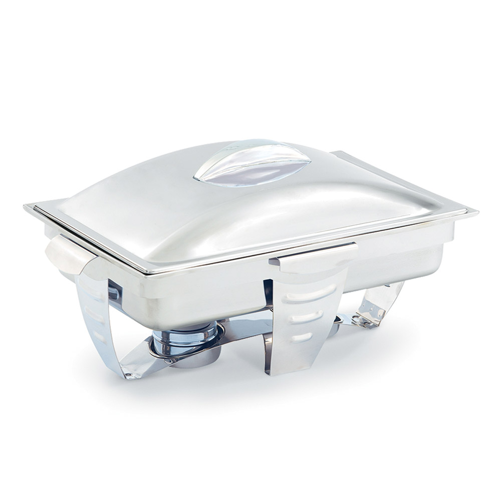 Vollrath 49520 9-qt Rectangular Chafer - Mirror-Finish Stainless