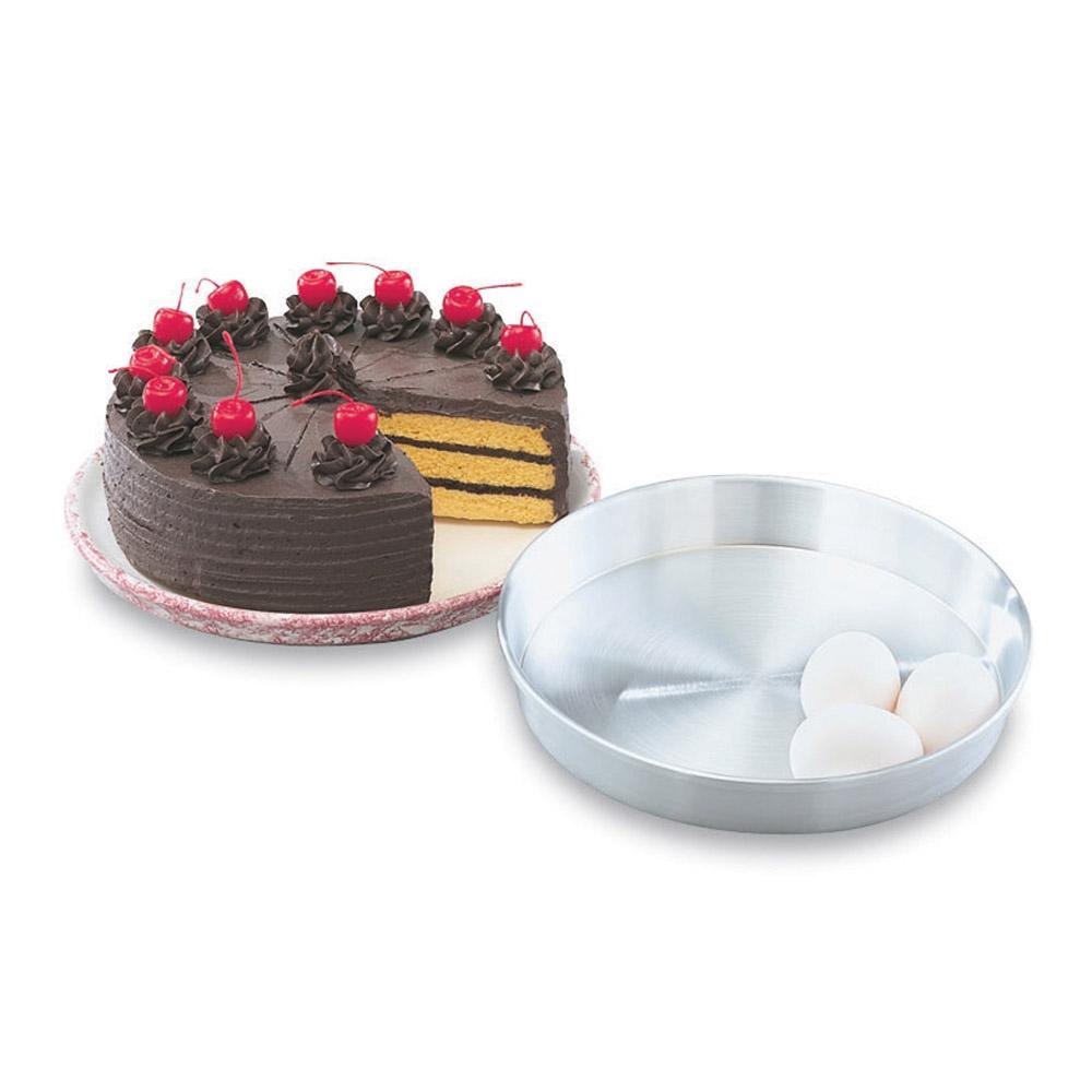 """Vollrath 51016 10"""" Cake Pan - Aluminum"""