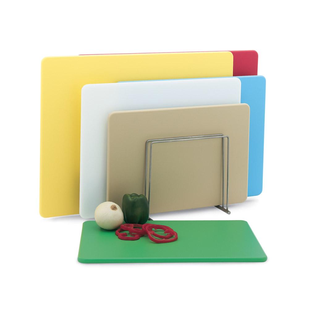"Vollrath 5200211 Poly Cutting Board Set - 15x20x1/2"" Multi-Color"