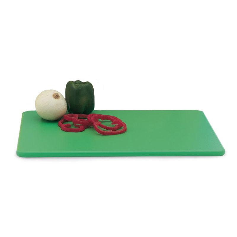 """Vollrath 5200370 Poly Cutting Board - 18x24x1/2"""" Green"""