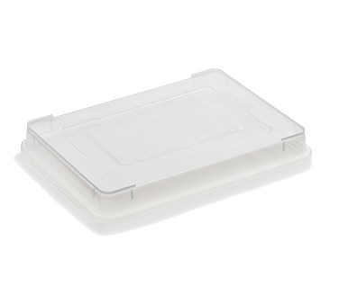 "Vollrath 5220CV Fourth-Size Sheet Pan Cover - 13.75"" x 9.75"", Polypropylene"