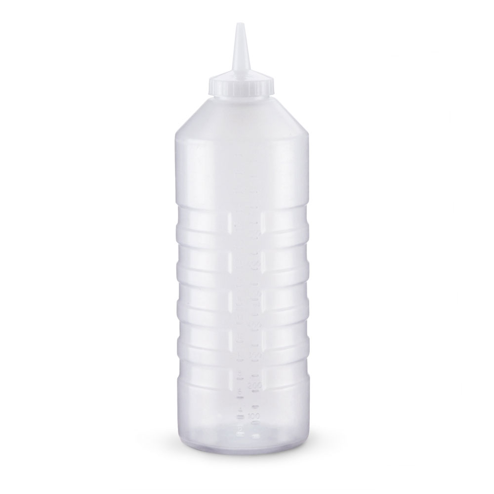 Vollrath 5232-13 Squeeze Bottle Dispenser w/ Standard Cap, 32-oz, Clear