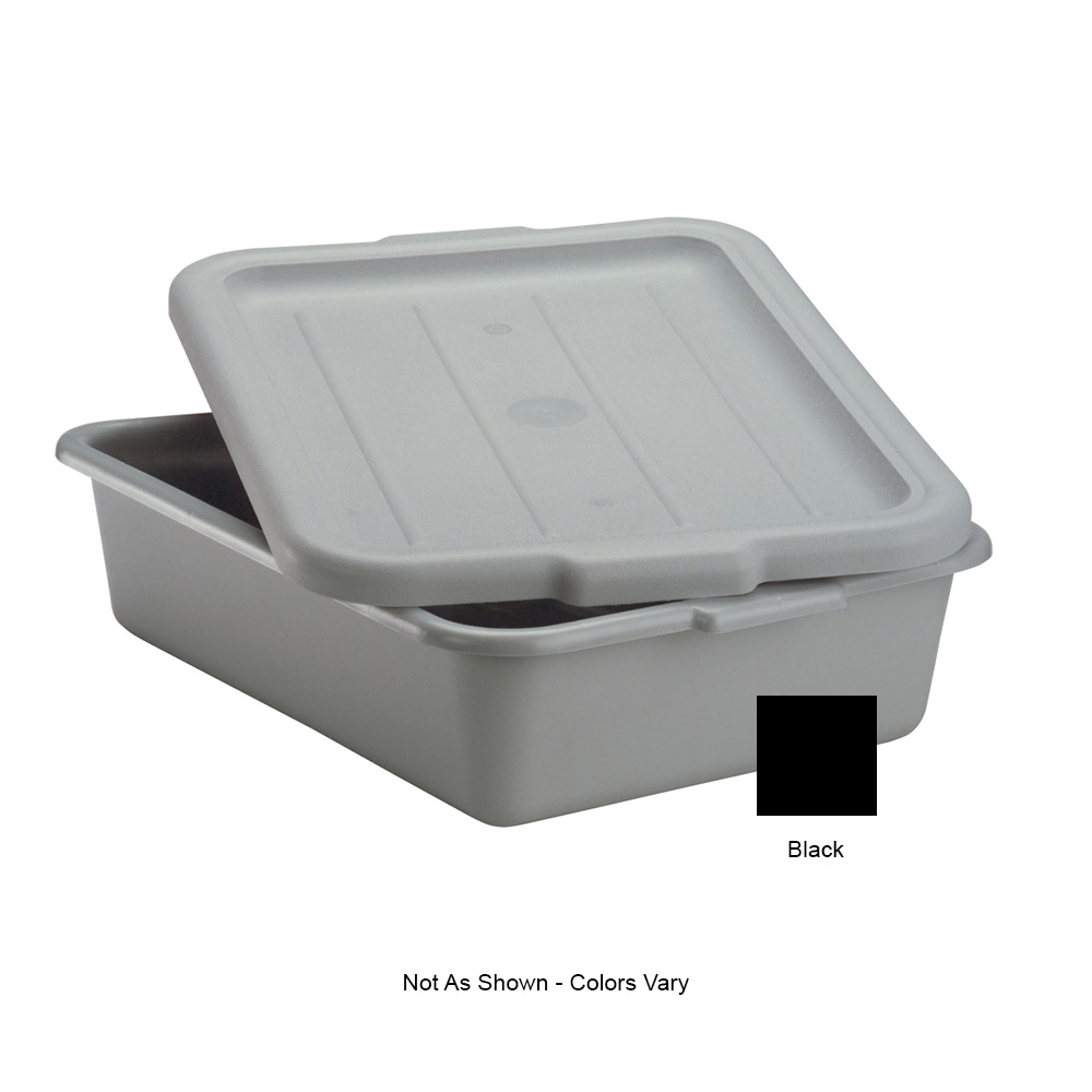 "Vollrath 52420 Dish Box Cover - 20x15"" Black"