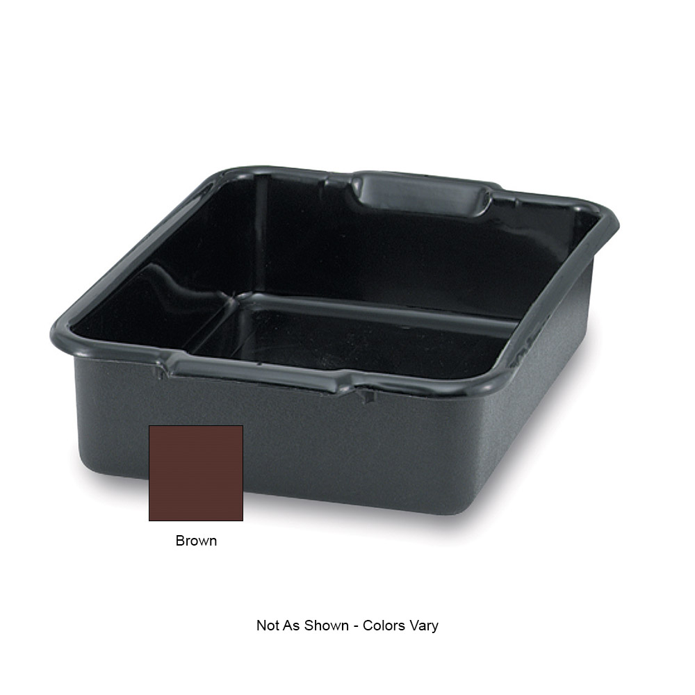 "Vollrath 52614 Bus Box - 20x15x5"" Brown"