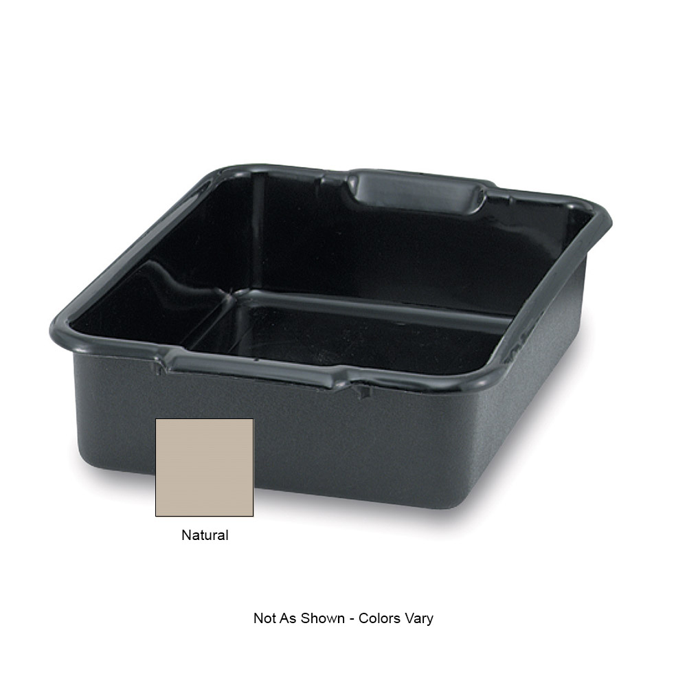"Vollrath 52615 Bus Box - 20x15x5"" Natural"