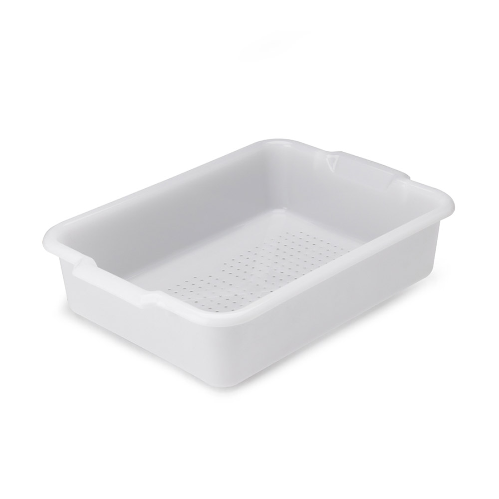"Vollrath 52616 Perforated Drain Box - 20x15x5"" Natural"