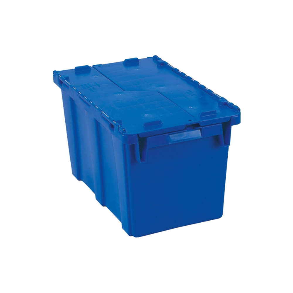 "Vollrath 52648 Tote 'N Store Chafer Box - 20-1/8x11-3/8x12-3/8"" Dark Blue"